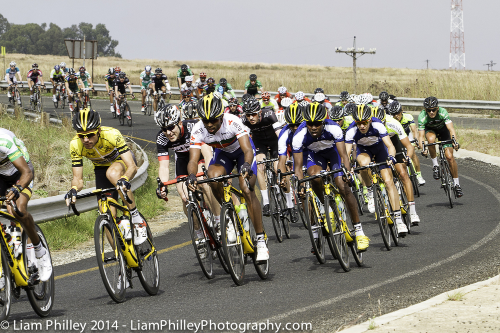 MTN-Qhubeka stage 3 first approach sprint zone.jpg