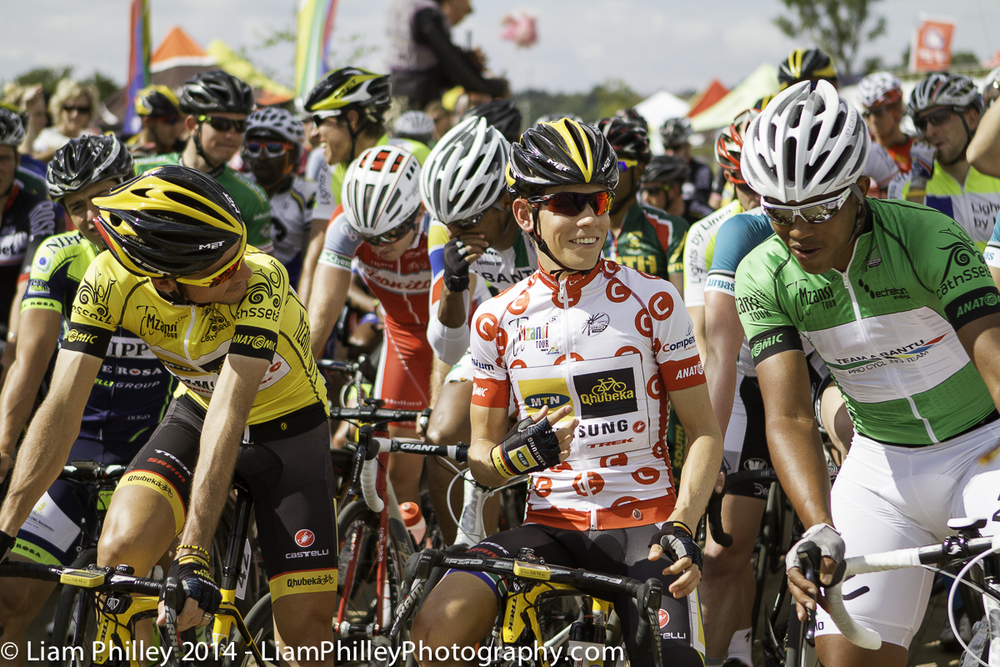 yellow, green and polka dots at start line of crit.jpg