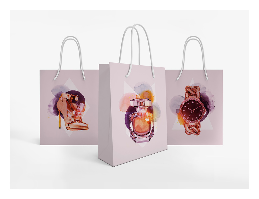 Fancy Shopping Bags
