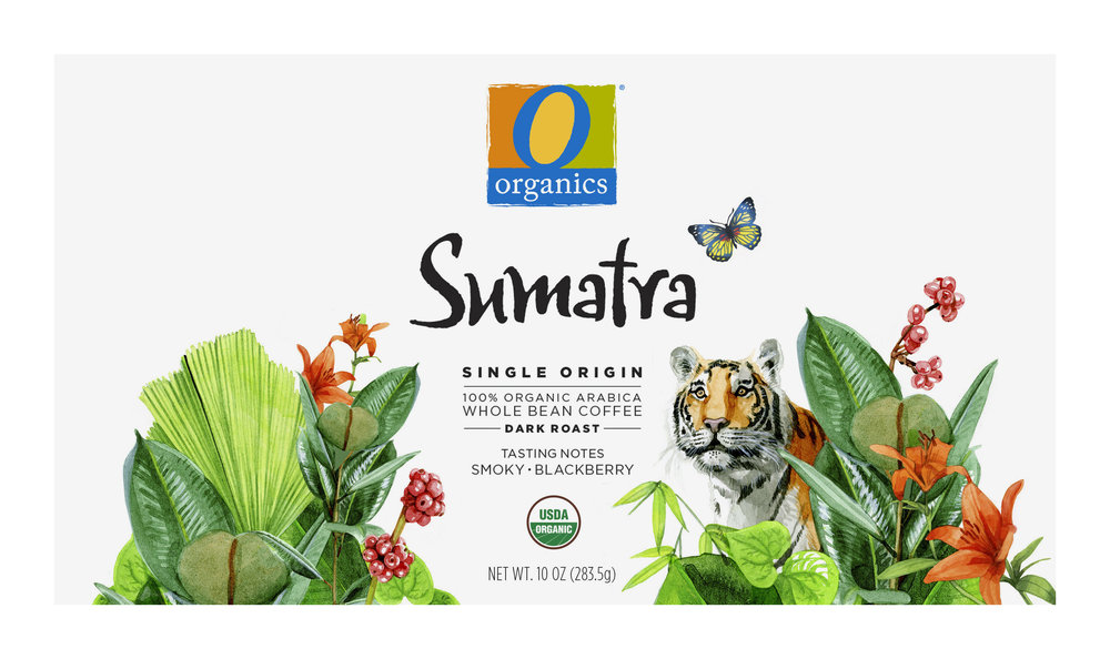 NEW! Coffee Packaging Series / Sumatra