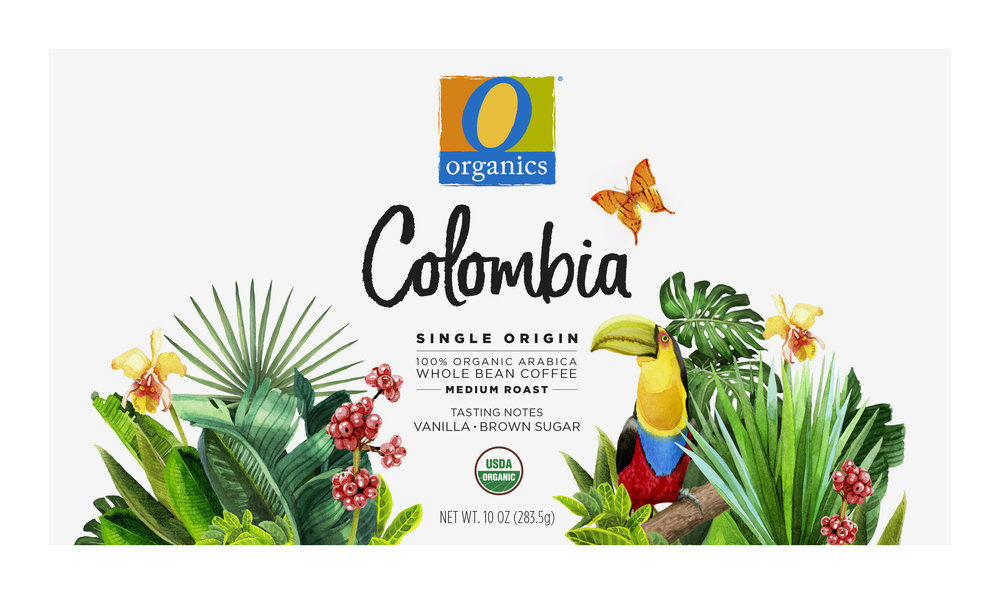 NEW! Coffee Packaging Series / Colombia