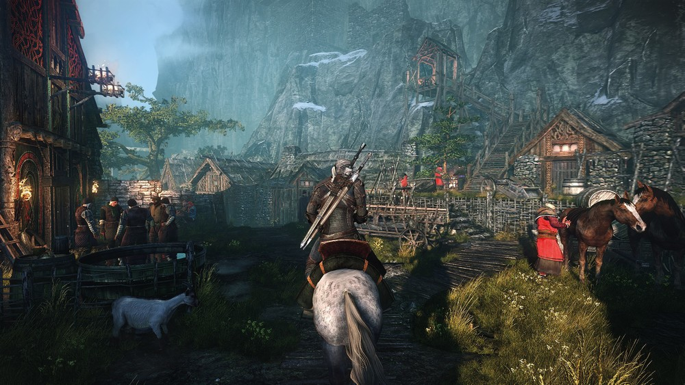 The Witcher 3, recently delayed until early 2015.