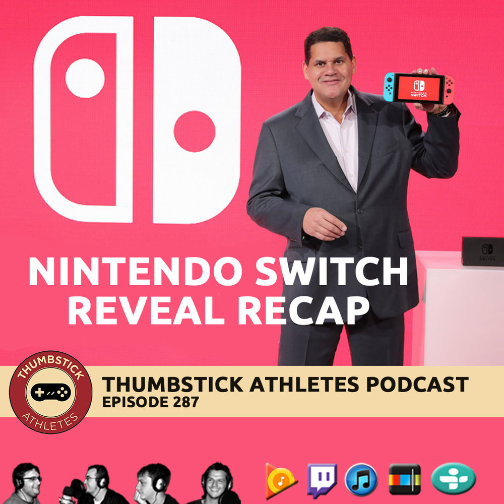 Nintendo Switch podcast cover image.