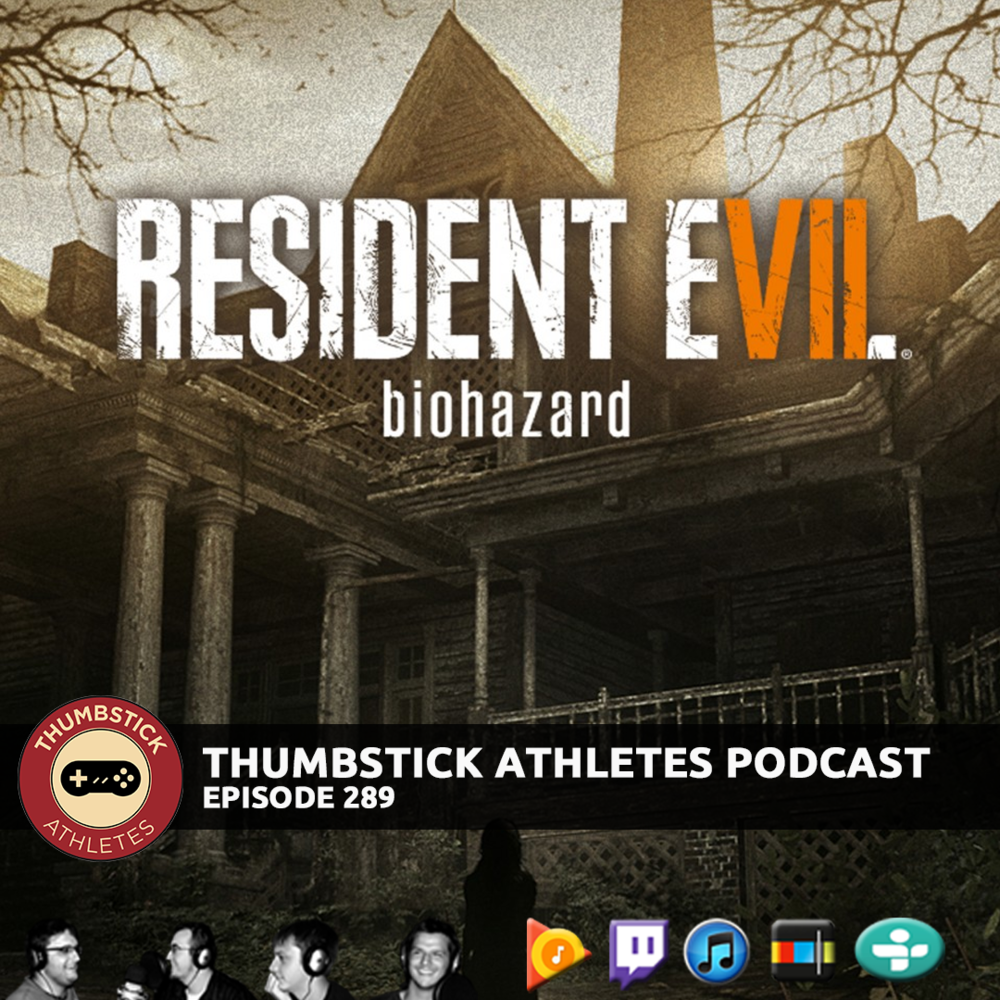 Resident Evil 7 podcast cover image.