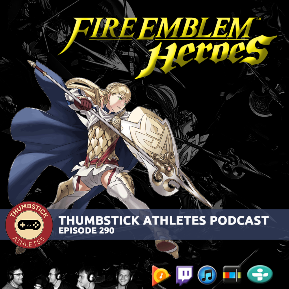 Fire Emblem Heroes podcast cover image.
