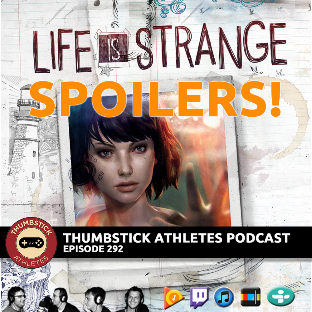 Life is Strange Spoilers podcast episode cover image