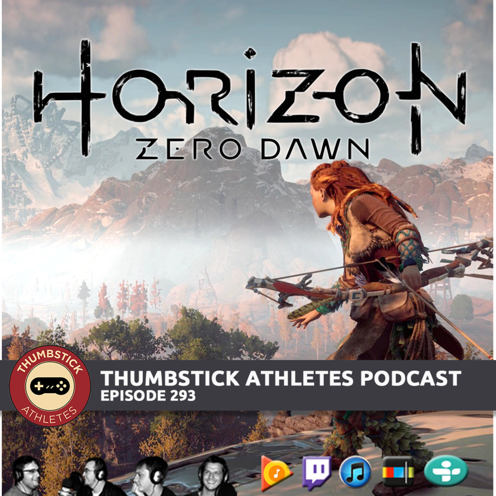 Horizon Zero Dawn podcast episode cover image
