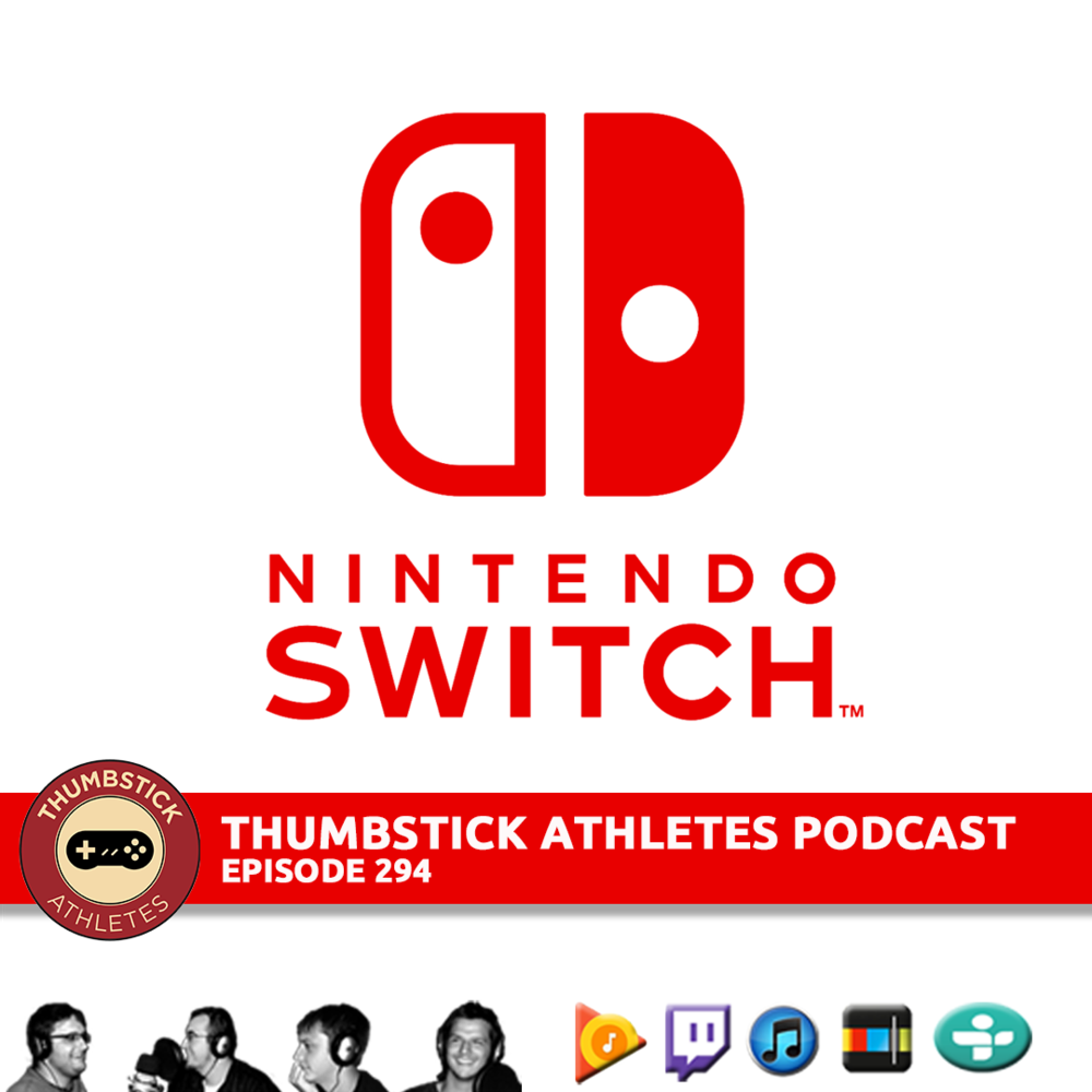 Nintendo Switch podcast episode cover image