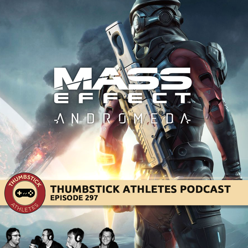 mass effect andromeda podcast episode cover image