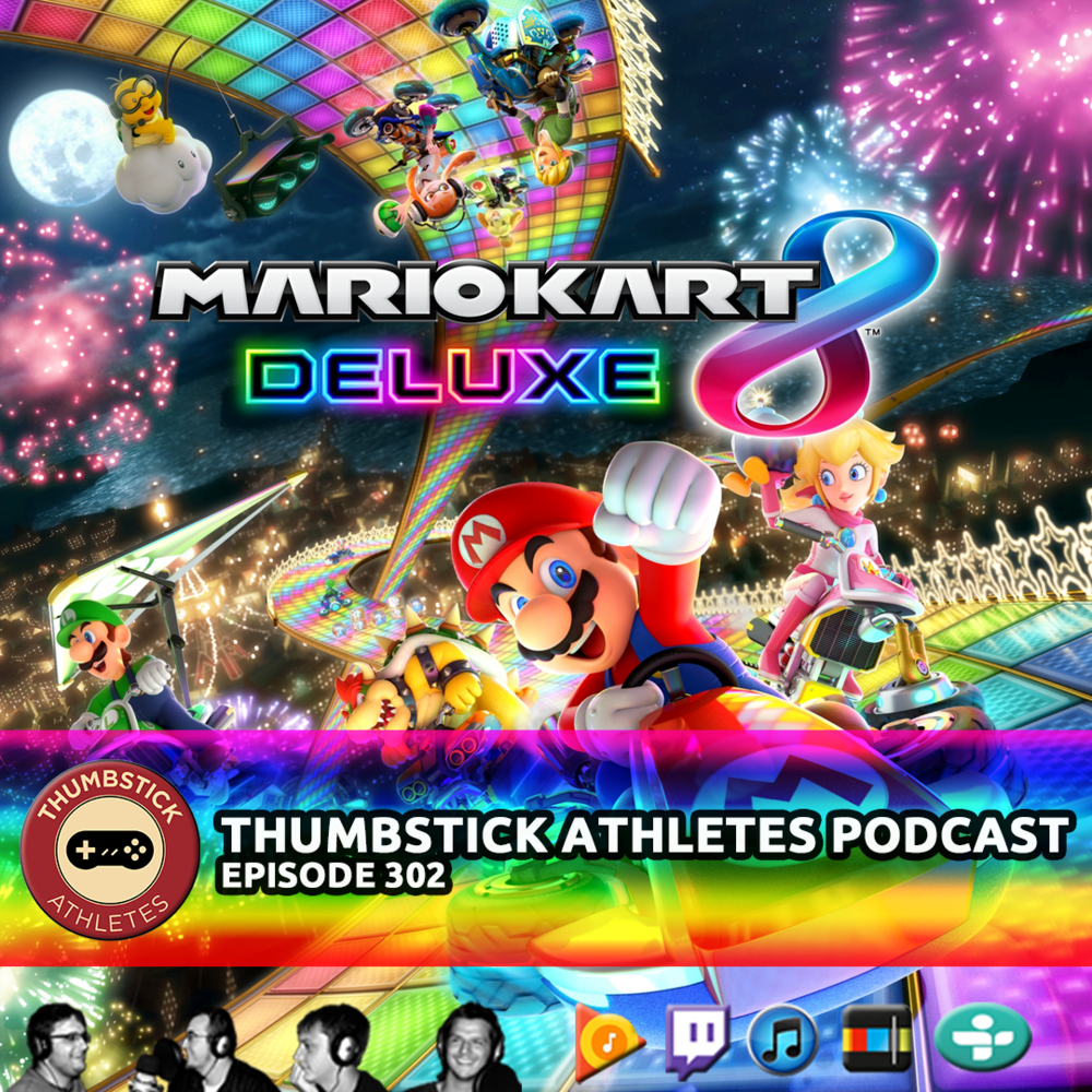 mario kart 8 podcast episode cover image