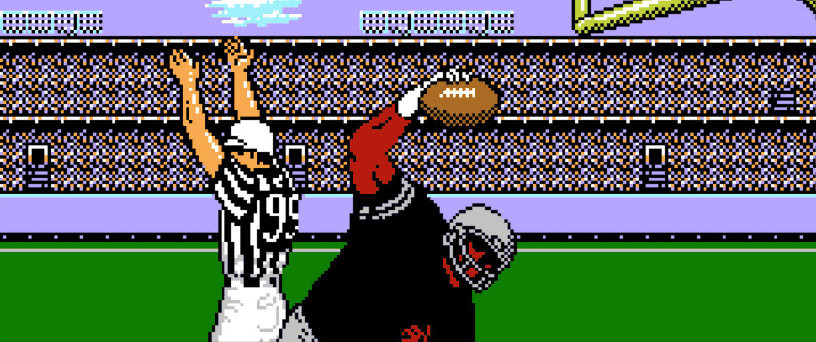 vintage nfl video game