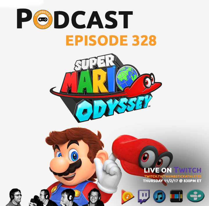 Super Mario Odyssey Podcast Episode Cover