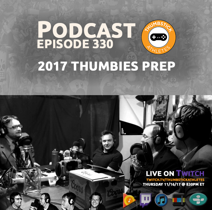 2017 Thumbies Prep podcast episode cover