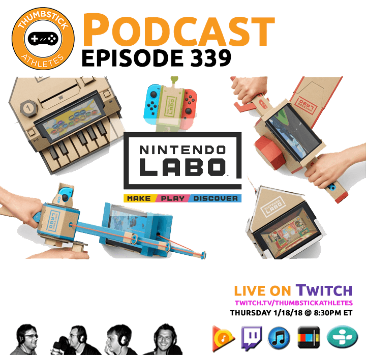 Nintendo Labo podcast episode cover image