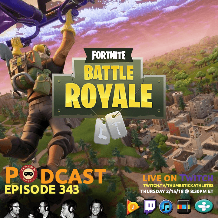 Fortnite: Battle Royale podcast episode cover image
