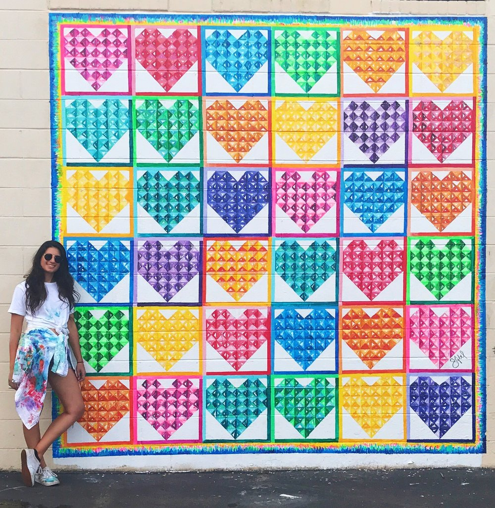 Painted Heart Quilt