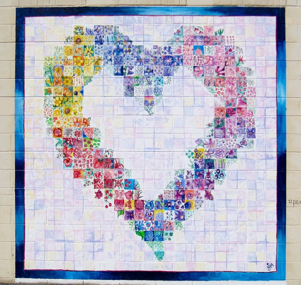 Painted Love Quilt