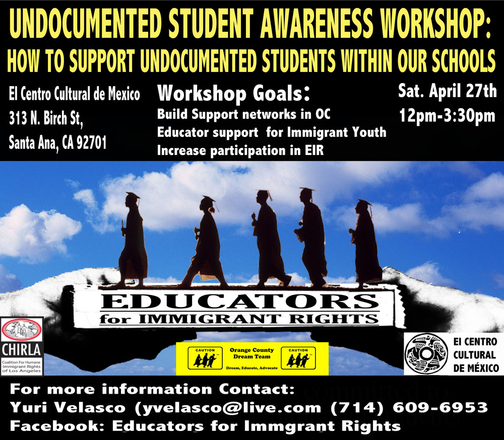 Undocumented Student Awareness Workshop