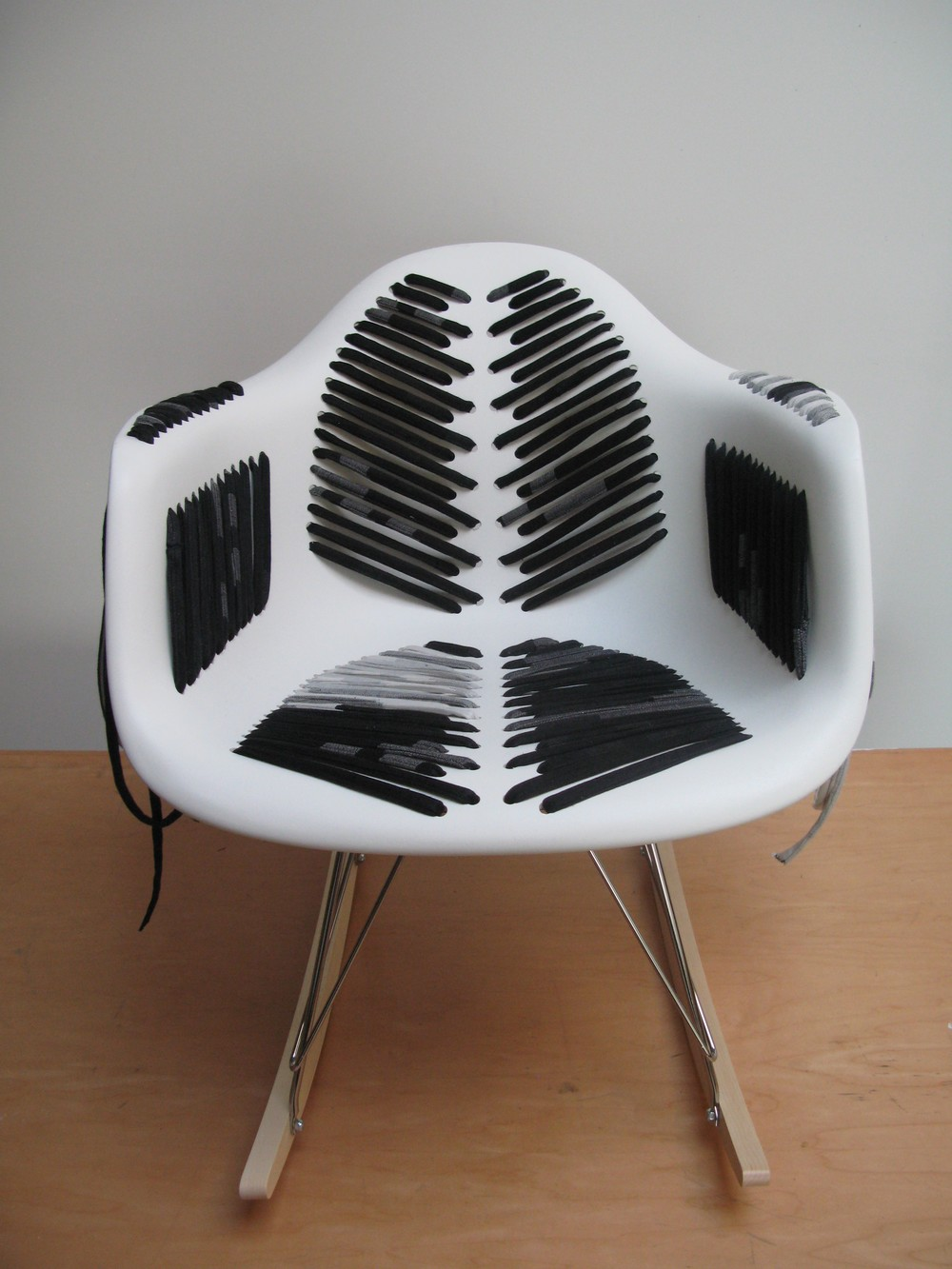 Pattie Lee Becker-transformed Eames chair
