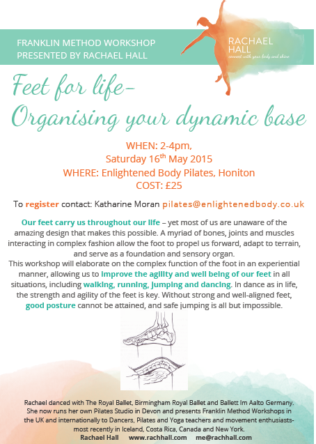 Franklin Method Feet Workshop @ Enlightened Body Pilates