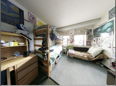 Cornell University (Court-Kay-Bauer Dormitory)