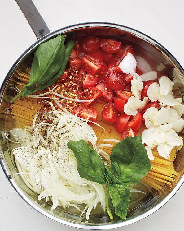One Pan Pasta Photo Courtesy of Martha Stewart Living