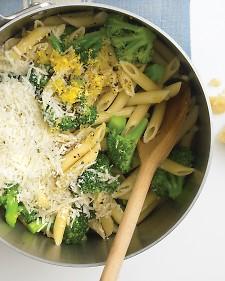 Broccoli One Pot Pasta Photo Courtesy of Martha Stewart Living