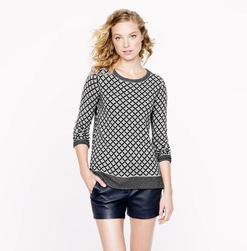 Cashmere Diamond Sweater