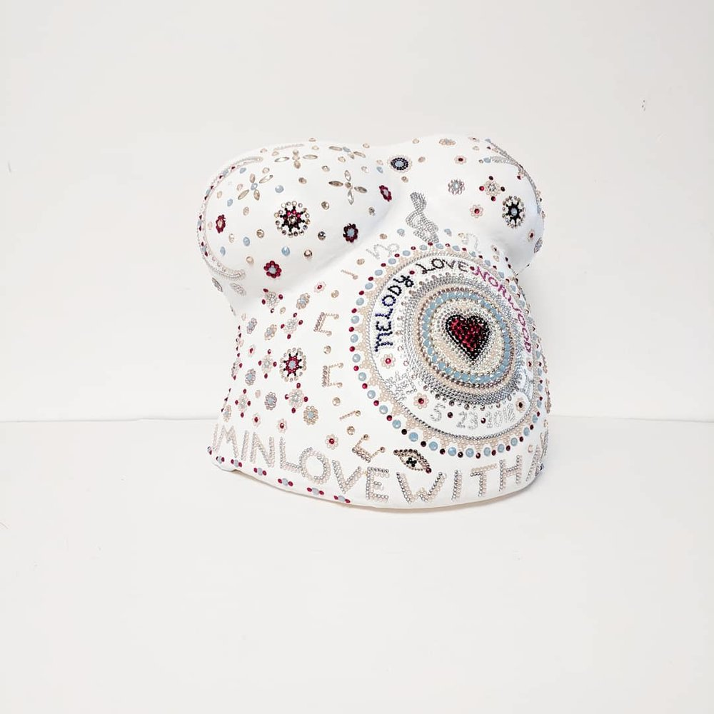 Princess Love Pregnancy Sculpture by Christina Justiz Roush