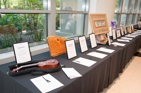 Silent Auction   Photo by Andrew Propp