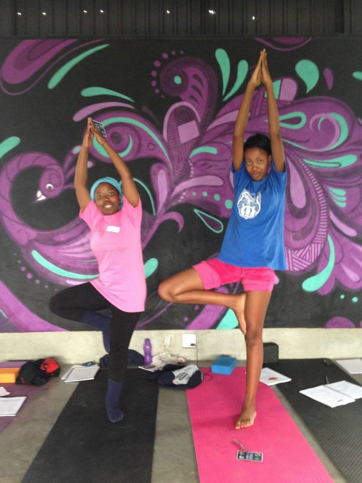 Yoga Training - December 2013