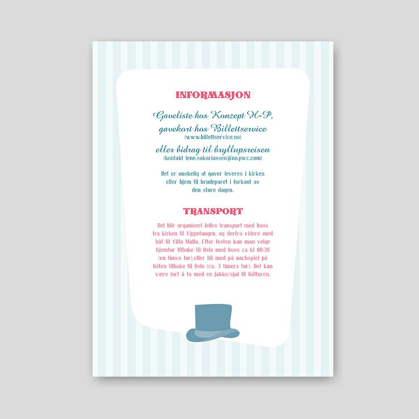 Bryllup –Informasjon