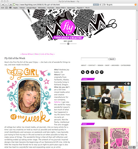 FLy Blog: Fly Girl of the week interview