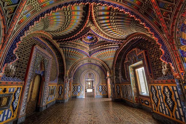 Peacock Room - Castello di Sammezzano