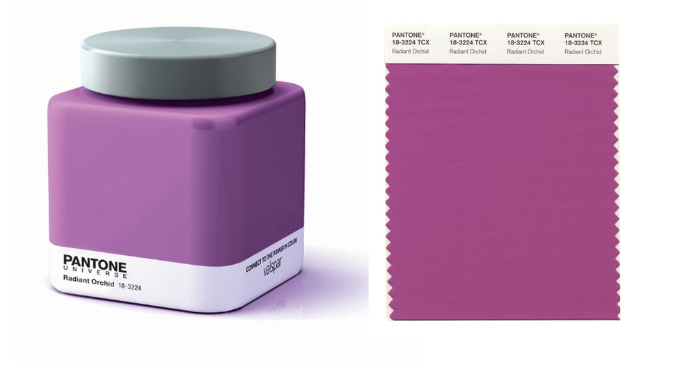 Pantone Color of the Year - 2014 is Radiant Orchid