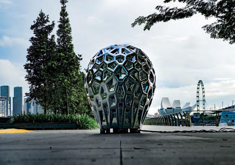 Kaleidoscopic Monolith