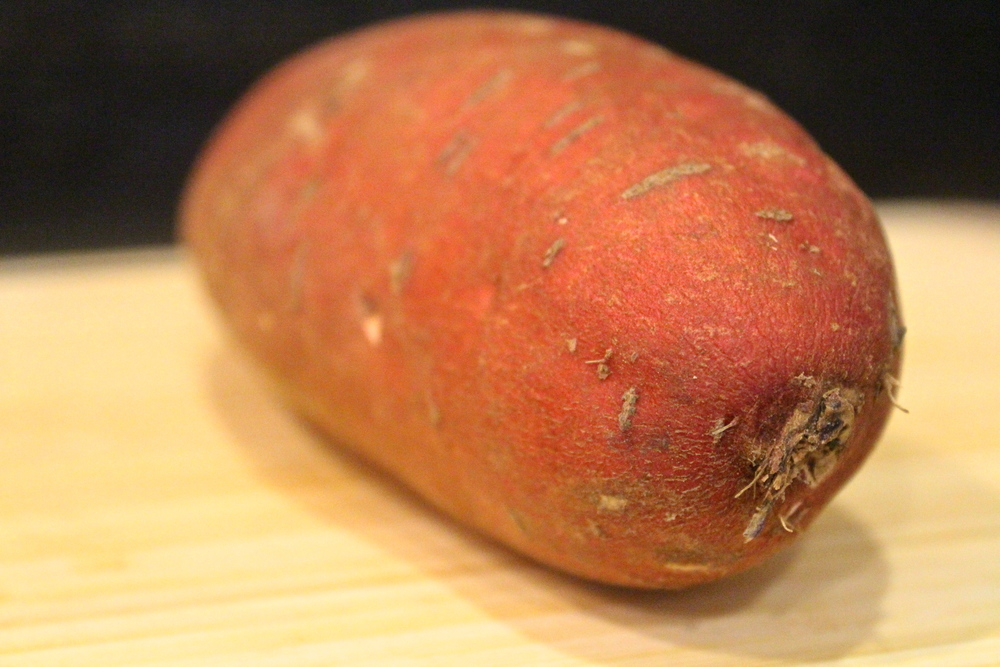 chile dusted sweet potatoes