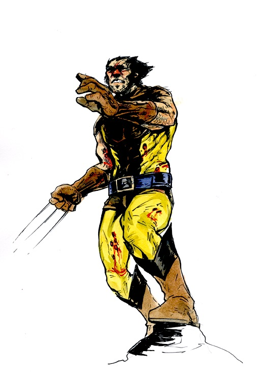 Wolverine of tThe X-men