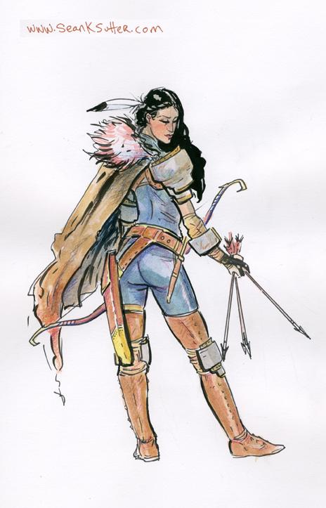 Sannis: Fantasy Ranger Hero!