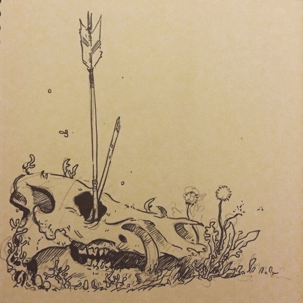 Pigmin skull. I love this kinda stuff.
