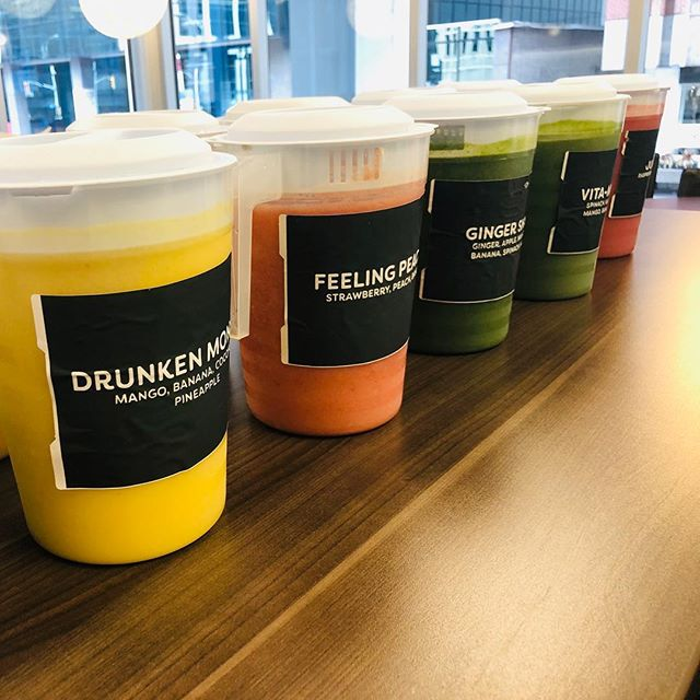 Thank you @welch_llp!  Accounting season is almost done! 22 smoothie pitchers later and only 1 blender casualty.  Always got your back 💪  #smoothie #delivery #office #juicemonkey #ottawa #catering #accountant #selfmade #RIPblender #thankyou