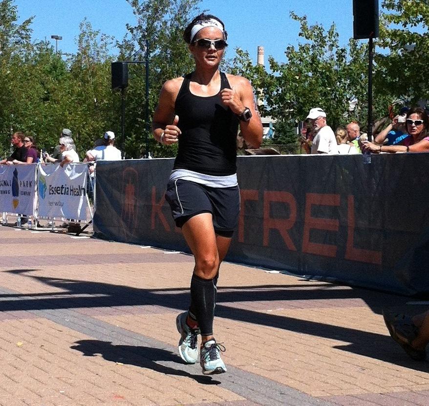 Mari Kay on the run!