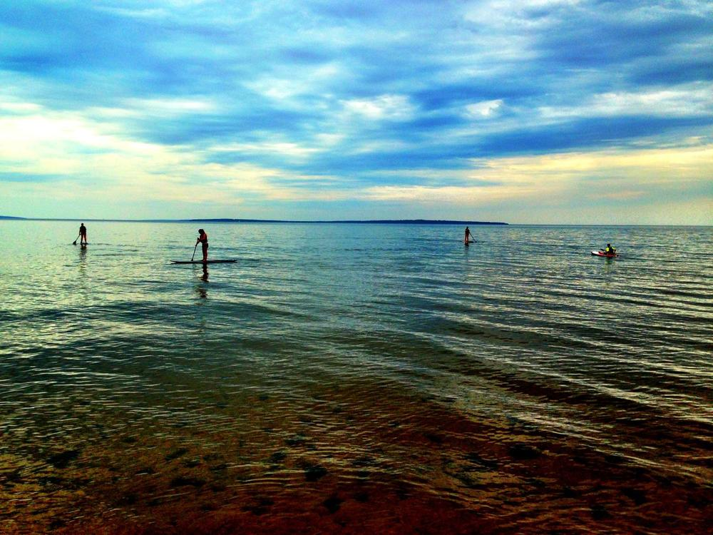 Solstice Outdoors SUP Demo Bayview Beach