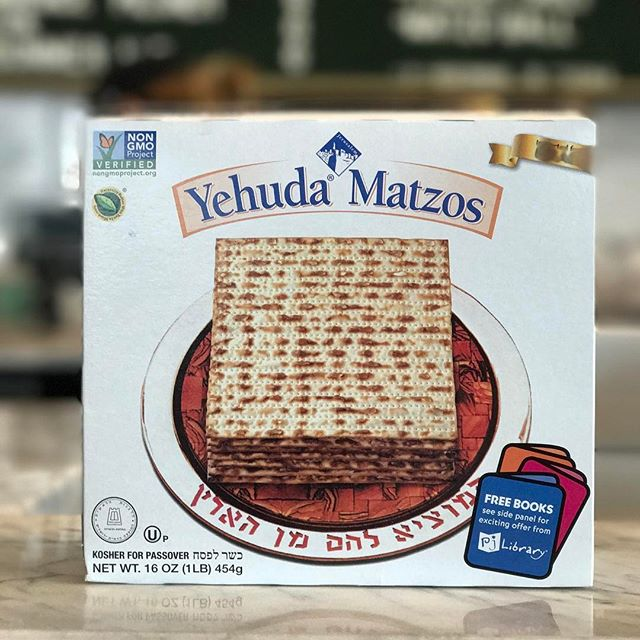 Celebrating #passover? Or just really like oversized crackers?  Regardless, come grab a sandwich on #matzah.