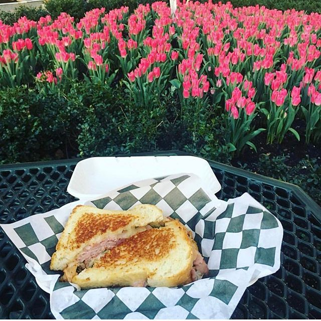📷 @thelandoftwo  Springtime sandwich time! #brookfieldeats #littlemuenster