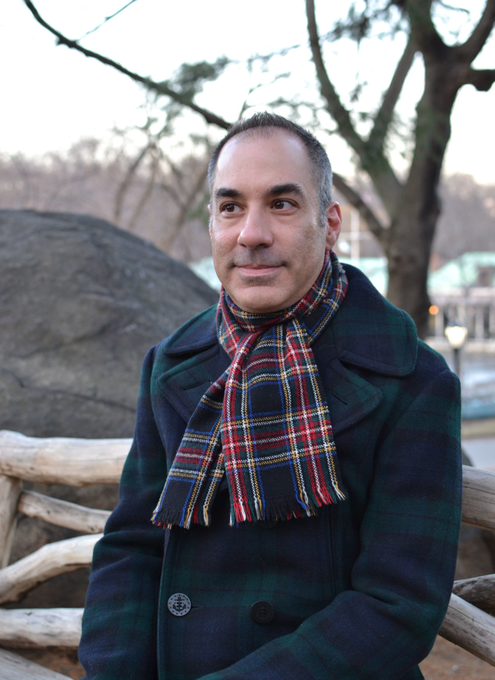 Me in Central Park - January 2014  Photo Credit -  Paul Weimer Design
