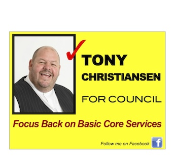 My 2010 Election billboard