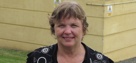 Councillor Catherine Stewart voted against the rates rise of about 10 per cent for most homeowners.