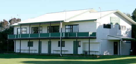 Mount Maunganui Cricket and Hockey Society building soon to be demolished.