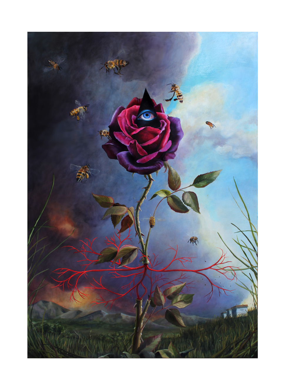 Scott.Dat Rosa Mel Apibus-The rose gives the bees honey.jpg
